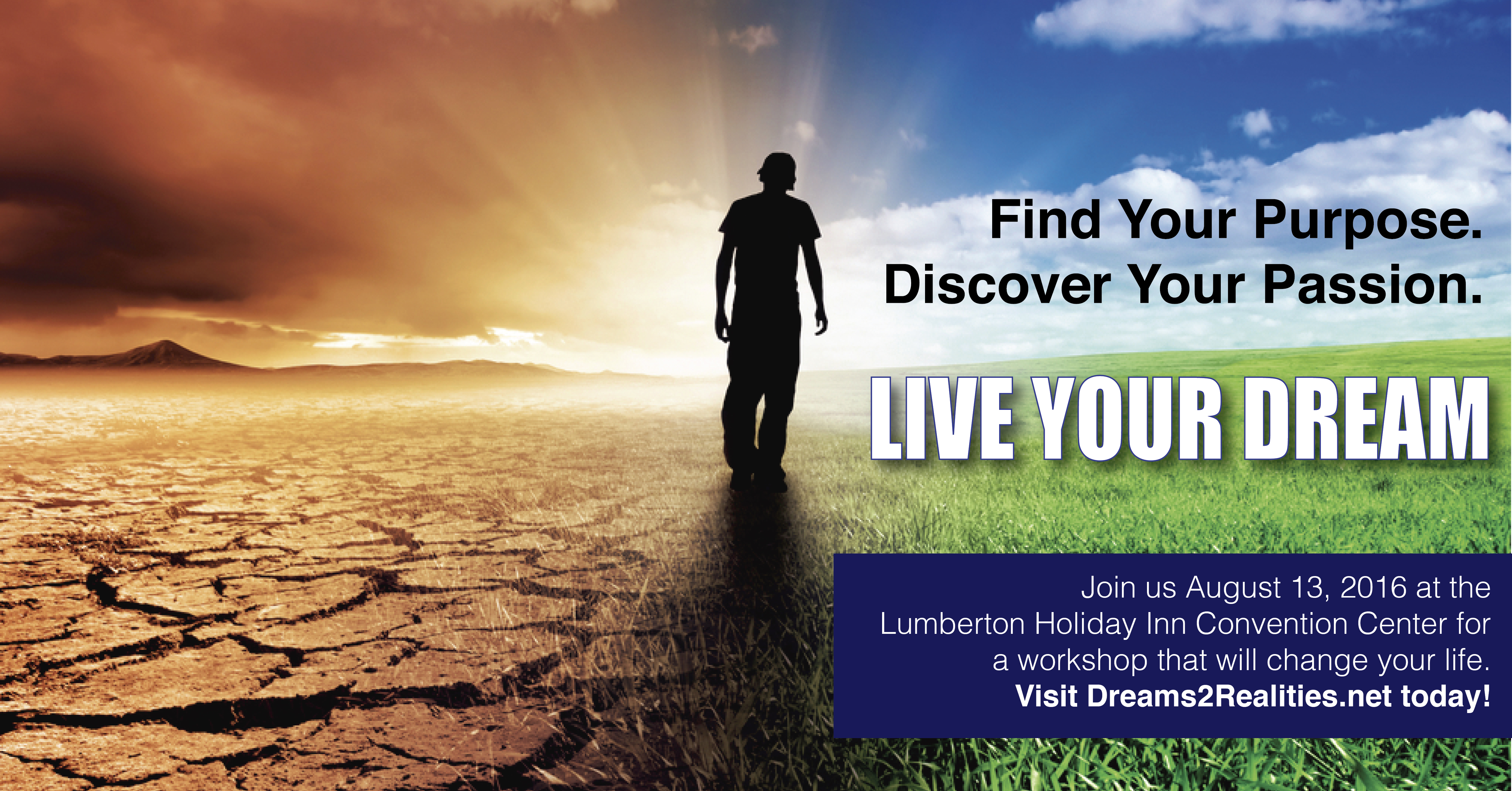 Live Your Dream Event Lumberton NC